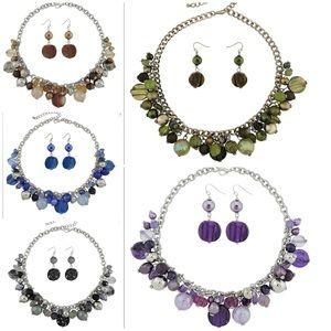 Jewelry - Women's Beaded Strand statement necklace